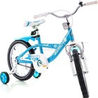 Детский двухколесный велосипед Азимут Вива на 16 и 20 дюймов Azimut Viva для девчонок 16 дюймов