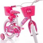 Детский двухколесный велосипед для девочки Azimut Barby Азимут Барби на 12 и на 18 д