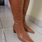 Dolcis нові шкіряні чоботи 39р. 25см