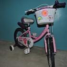Детский двухколесный велосипед Angel Ангел для девочек 14, 16, 20 дюймов