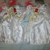 Новое платье 12-18мес на Новый год.Для близняшек. Звёздочка,снежинка.