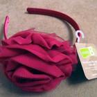Обручи для девочек крупная роза аксессуары для волос Крейзи8 Crazy8 из США