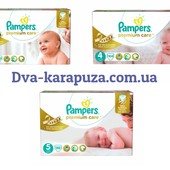 Pampers Premium Care 3, 4, 5! Коробки!