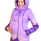 Продам зимние куртки со вставкой для беременной+слингокуртка 4 в 1