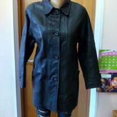 Женская зимняя кожаная куртка р-р S-M