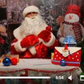 Видеообращение Деда мороза под заказ.