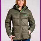 Зимняя женская куртка с капюшоном Высокое качество Холофайбер