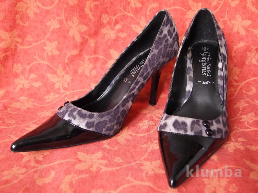 размер 39 Женские туфли Gorgeous в отличном состоянии, б/у. фото №1