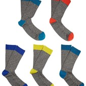 Качественные хлопковые носки упаковка - 5пар F&F Великобритания