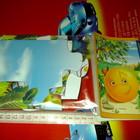 Пазлы из гигантских частей картонные для малышей