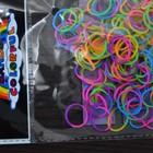 Резиночки для плетения браслетов RAINBOW LOOM BANDS 200шт