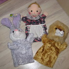 Куколный театр куклы перчатки
