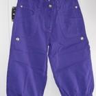 Джинсовые бриджи фиолетовые Marions  на рост 128-134-140-146-152 см