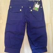 Джинсовые бриджи фиолетовые Marions  на рост 134-140 см