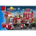 Конструктор BRICK 911 Пожарная охрана (980 деталей)