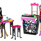 Куклы Монстер Хай Клео де Нил  Хоулин Вульф Крипатерия(Monster High Creepateria Cleo de Nile Howleen