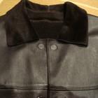 кожаный пиджак двухсторонний