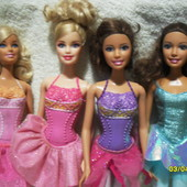 куклы Барби Barbie Маттел Mattel балерины оригинал .