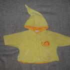 Детское плюшевое пальто Alphabet