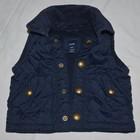 0 - 3 месяца до 74 см Обалденно модная стеганная фирменная Красивенная теплая жилетка ГЕП Gap