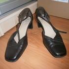 Туфли коричневые, 40.5 размер,  7 евро размер.