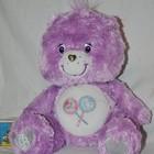 Большой Мишка Care Bears Заботливые мишки фиолетовый камни Сваровски
