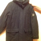 Пальто на мальчика некст р 134-140