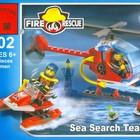 """Конструктор """"Пожарная береговая охрана"""" Brick 902,новый"""