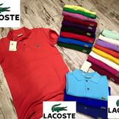 Распродажа тенниски  Lacoste хлопок пике Турция качество суперр