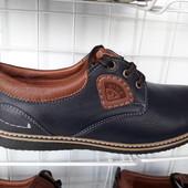 Мужские  туфли,комфорт! Кожа
