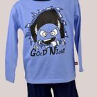 Пижама для мальчика: футболка с длинным рукавом и бриджи. Natural Club