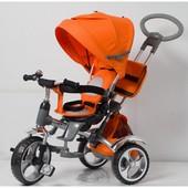 Детский трёхколёсный велосипед tr16008 EVA колеса