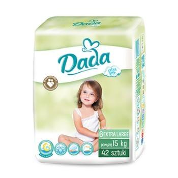 Подгузники dada extra soft памперсы дада екстра софт все размеры 2, 3, 4, 4+, 5, 5+ польша фото №6
