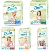Подгузники Dada extra soft памперсы Дада екстра софт все размеры 2, 3, 4, 4+, 5, 5+ Польша