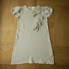 платье нарядное с люрексовой нитью р 110-116 см. Длина 58 см, ширина под руками 30 см.
