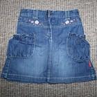 Джинсовая юбка на 7 год