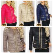 Женская стеганная  куртка шанелька