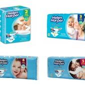 Подгузники Helen Harper Air comfort 2 62, 3 56, 4 50, 5 44 шт!