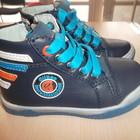 модные демисезонные ботинки для мальчика р21-26. реальные фото