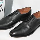 Кожанные туфли фирма Fitzwell американский разм-10, европ. -43