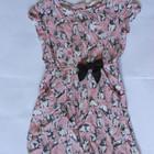 Платье принт Кролики 7-8 лет (штапель)