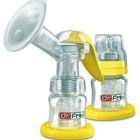 Молокоотсос Dr.Frei GM 1  с запасной бутылочкой в комплекте  .