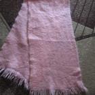Очень теплый розовый шарф  !!!!!!!!!