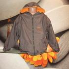 Куртка трансформер на флисе,6 8 лет.