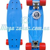 Скейтборд/скейт Penny Board (Пенни борд) Fish: Blue, до 80кг