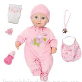 Новинка 2016. Интерактивная кукла Беби Аннабель Zapf Creation 794401