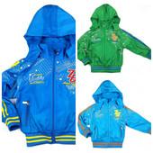 Куртка ветровка для мальчика 104-152см