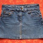 Джинсовая юбка на 9-10 лет, б/у. В хорошем состоянии.
