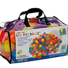 Набор мячиков для сухого бассейна 100шт Intex 49602