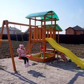 Детский игровой комплекс +для улицы BL-7